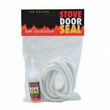 12mm Rope & Glue Set for Woodburning or Multi Fuel Stoves