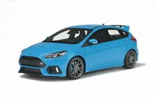 OTTO MOBILE 200 FORD FOCUS RS resin model car Nitrous blue 2016 Ltd Ed 1:18th