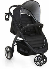 Hauck LIFT UP 3 STROLLER - Black Buggy Compact Fold Baby Travel SRP £169.99 BN