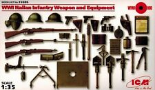 ICM 35686 - WWI Italian Infantry Weapon and Equipment - 1:35