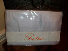 NIP Pratesi Lavender Embroidered 300TC 100% Egyptian Cotton Queen Sheet Set