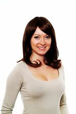 Half-length Wig/Wig, Side part,Red-Brown Mix,smooth Hair H9537-2T30(603)