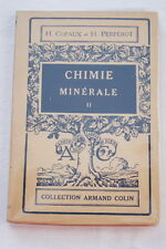 CHIMIE MINERALE,T2,COPAUX et PERPEROT,Colin,1946,ILL