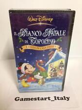 IL BIANCO NATALE DI  TOPOLINO - DISNEY - VHS - NUOVO VERSIONE ITALIANA