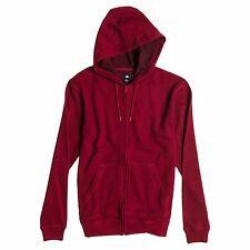 DC Shoes Rebel Zip Drawstring Hoody/Hoodie/Jacket 2 - Jester Red - Large