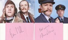 COMEDIANS: ARMSTRONG & MILLER SIGNED ALBUM PAGES+2 UNSIGNED PHOTOS+COA