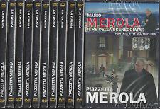 Lotto stock 11 Dvd video «PIAZZETTA MEROLA» il re della sceneggiata Mario Merola