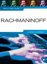 Really Easy Piano Rachmaninoff Learn to Play Beginner Classical Songs Music Book
