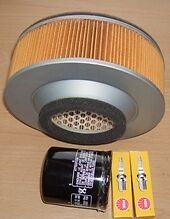 Plugs Air filter & Oil filter for KAWASAKI VN VN800 Vulcan & Drifter 1995 to 02