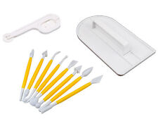 Cake Sugarcraft Tool Kit Smoother Icing Fondant Cutter Modelling tools UK Seller