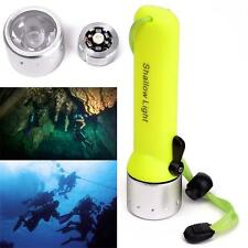 3W Diving Flashlight 2000LM CREE Q5 LED Waterproof AA Torch Underwater Lamp BG