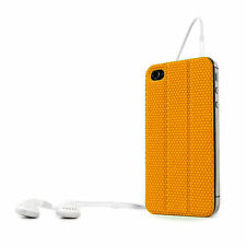 Apple iPhone 4 4S Housse de protection tidy tilt cordon wrap dos magnétique orange