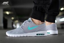 NIKE STEFAN JANOSKI MAX Trainers SB Air - UK Size 10 (EUR 45) RRP £110 Wolf Grey