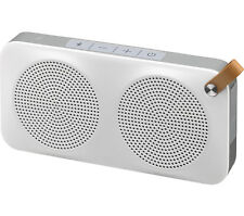 JVC SP-AD90-BW Portable Wireless Speaker Bluetooth 6 W Microphone Aux-in White