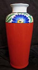 antique Victoria Ware Czechoslovakia lg Secessionist/Art Deco handpainted vase