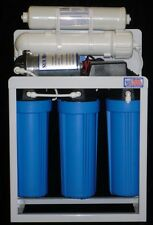 Light Commercial Reverse Osmosis Water Filter System 300 GPD 14 Gallon Tank