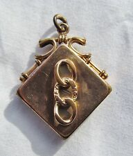 Antique Victorian Independant Order of Odd Fellows IOOF Watch Fob Locket Charm