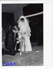 Mary Ann Mobley sexy at wedding VINTAGE Photo