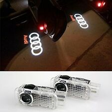 COGEEK 2 PCS Logo Laser Projector Door Under Puddle Lights For Audi A4 A3 A6 Q7