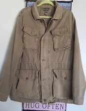 Levi's Men's Cargo Jacket Khaki US Size Large L