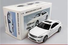 AUTOart Diecast MERCEDES BENZ CL63 AMG White 1/18