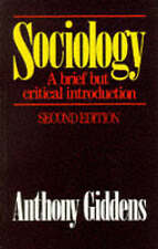 Sociology^, By Anthony Giddens,in Used but Acceptable condition