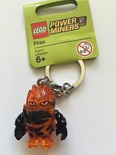 *NEW* LEGO Power Miners FIRAX Orange ROCK Monster Key Chain 852862