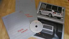 AUDI PARIS 2006 PRESS KIT WITH AUDI S3