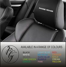5 rangerover car seat head rest decal sticker vinyl graphic logo badge free post