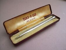 Vintage Sterling Silver Yard O Led Retractable Pencil in it's Box..