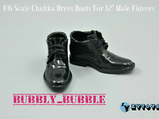 "1/6 Scale Mens Shoes Chukka Boots For 12"" Hot Toys Male Figures SHIP FROM USA"