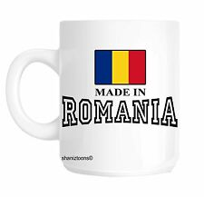 Made Born In Romania Birthday Gift Mug shan625
