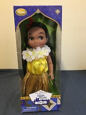 NEW DISNEY COLLECTION IT'S A SMALL WORLD SINGING HAWAII DOLL *DAMAGED BOX*