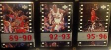 upper deck Michael Jordan trading card 89 90 92 93 95 96 3 pack enclosed