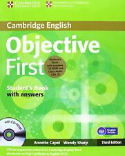 Objective First Student's Book Pack (Student's Book with Answers with CD-ROM and