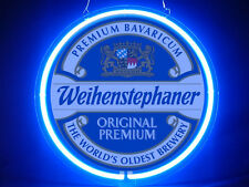 Weihenstephan Beer Hub Bar Display Advertising Neon Sign