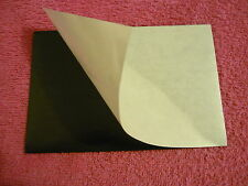 18 flexible magnet sheet self adhesive, with  silicone paper! 10X15 cm  4X6""