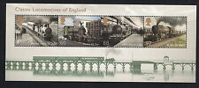 GB stamps - 2011 Trains, Classic Locomotives of England Minisheet, MS3144, MNH