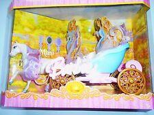 BARBIE MINI KINGDOM MATTEL CARROZZA CON CAVALLO J6074 MATTEL