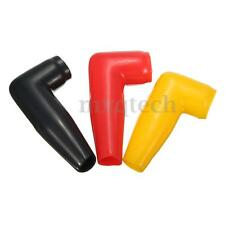 Electric Guard Motor Winch Cable Terminal Boot Black/Yellow/Red Rubber Cover NEW