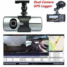 "Dual Camera 2.7"" LCD HD 1080P Car DVR Digital Video Recorder Dash Cam GPS Logger"