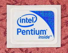 Intel Pentium Inside Sticker 18 x 24.5mm 2009 Version Case Badge Logo USA Seller
