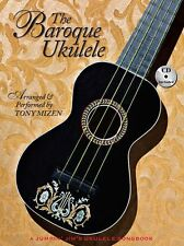 The Baroque Ukulele Learn to Play Classical Vivaldi Bach UKE Music Book & CD