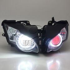 Fully Assembly Headlight HID Red Demon Angel Eye for Honda CBR1000 2008-2011 09