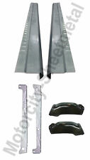 1999-07 Chevy Silverado 4DR EXT Cab Inner & Outer Rocker Panels With Cab Corners