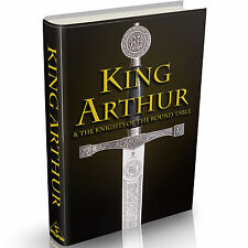 King Arthur 68 Old Books on DVD Merlin Sir Lancelot Arthurian Romance Excalibur
