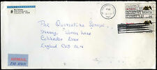 USA 1987 Commercial Airmail Cover To England #C32921