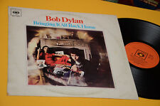 BOB DYLAN LP BRINGING IT ALL BACK HOME ORIG ITALY 1966 MONO EX CBS ORANGE LABEL