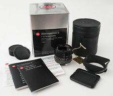 Leica 28mm f/2 Summicron M Mount Lens ASPH #11604