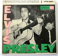 "ELVIS PRESLEY EPB 1254 DOUBLE 45 RPM 7 "" EP DOGLESS LABEL MINT- RARE"